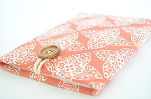 Coral-Kindle-Sleeve-Case-Custom-Fit-for-Oasis-Voyage-Paperwhite-Amazon-Fire-Handmade-Sized-for-your-Device