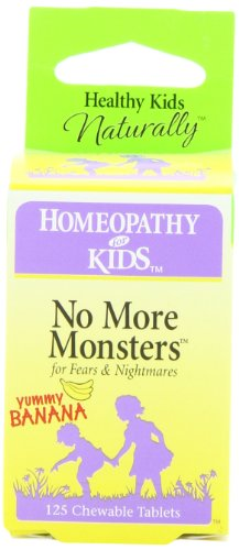 Herbs for Kids No More Monsters, Chewable Tablets, 125-Count