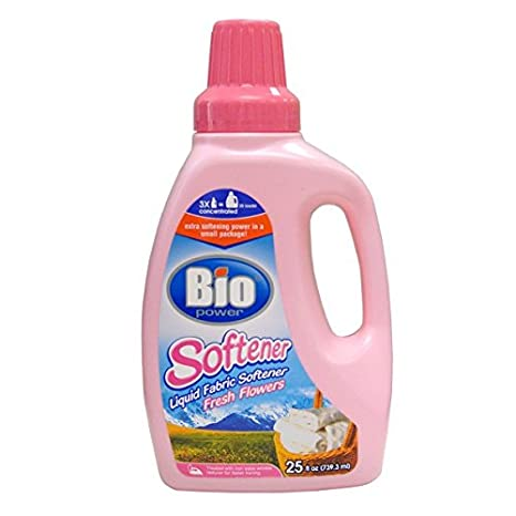 Amazon.com: BIO Liquid Softner 25oz Fresh Flowers , Case of 48: Health & Personal Care
