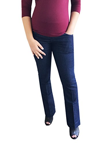 Belly Envy Must Have Dark Wash Maternity Bootcut Jeans