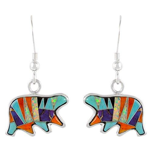 bear earrings - 2