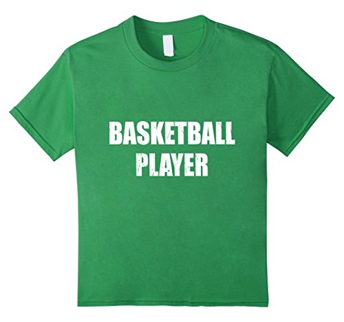 [Kids Basketball Player Halloween Costume Party Cute Funny shirt 4 Grass] (Girls Basketball Player Costume)