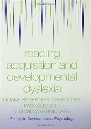 reading acquisition and developmental dyslexia essays in  reading acquisition and developmental dyslexia essays in developmental psychology 1st edition