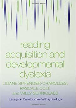 reading acquisition and developmental dyslexia essays in  reading acquisition and developmental dyslexia essays in developmental psychology
