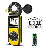 Light Meter-HOLDPEAK 881E Digital Illuminanc/Light Meter with 0.01~400,000 Lux (0.01~40,000 FC) Measuring Ranges
