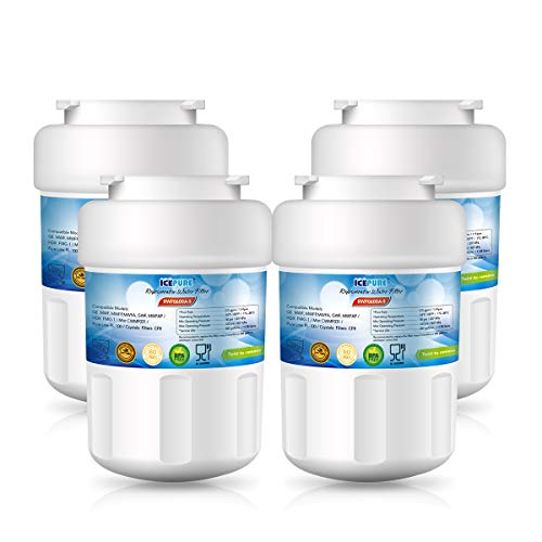 4PACK,Icepure Mwf Refrigerator water filter Replacement GE MWF,MWFP,MWFA,MWFAP,MWFINT,GWF,GWF01,GWF06,GWFA,HWF,HWFA,FMG-1 -  YUNDA