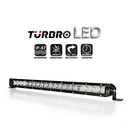 [TURBRO SS-series Single Row Slim 5D Led Work Light Bar Combo Beam for Jeep 4X4 ATV UTV (1PCS 21