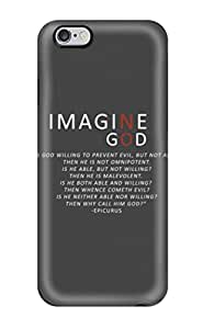 5410848K11915389 Scratch-free Phone Case For Iphone 6 Plus- Retail Packaging - Anti Religious