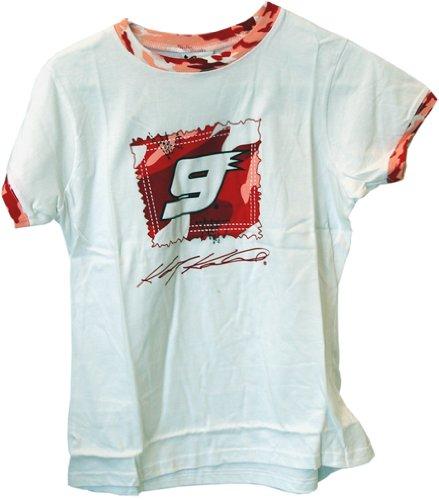 NASCAR Kasey Kahne #9 Trackside Ladies Tee Shirt Small