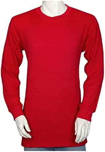 7430c6348ef6 Styllion Men's Thermal Shirt - Heavy Weight - Big and Tall & Regular Sizes