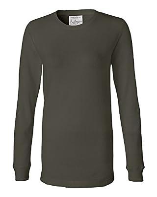 J. America 8234 Ladies' Cortney Long Sleeve Thermal T-Shirt