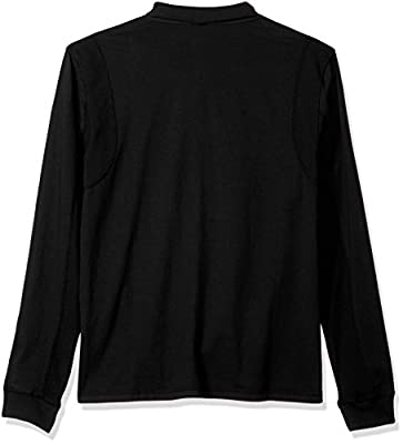 Calvin Klein Jeans Men's Long Sleeve Mock Neck Waffle Knit Henley