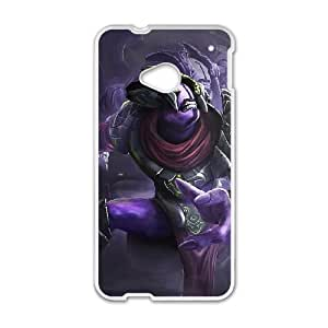 HTC One M7 Cell Phone Case White Defense Of The Ancients Dota 2 FACELESS VOID Tvxkv