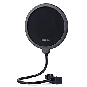 ZINGYOU Microphone Pop Filter, Studio Recordi...