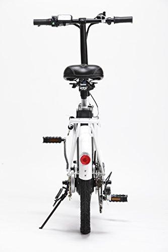 Bicicleta ELECTRICA Plegable Mod. Book BATERIA Ion Litio 36V10AH (Blanco): Amazon.es: Deportes y aire libre