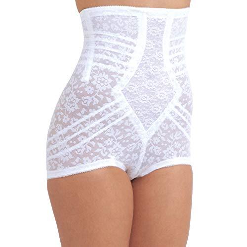 High Panties Waist Brief Rago (Rago Style 6107 - High Waist Extra Firm Shaping Panty Brief, 2XL/34 White)