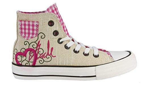 Krüger Damen Sneaker Heart Pink