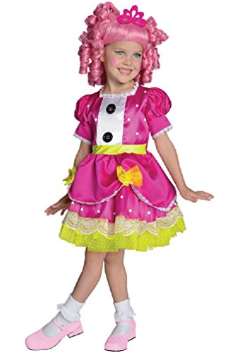 [8eighteen Lalaloopsy Princess Deluxe Jewel Sparkles Toddler/Child Costume] (Lalaloopsy Adult Costumes)