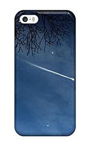 Excellent Design Full Moons And A Falling Star Phone Case For Iphone 5/5s Premium Tpu Case by lolosakes