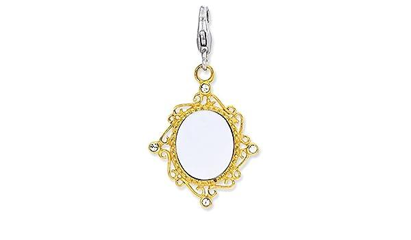 Maltese Cross Charm On A 6 1//4 Inch Round Eye Hook Bangle Bracelet