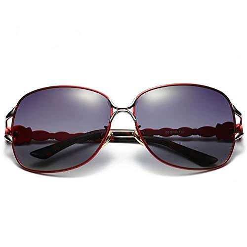 Gabcus - Bunte Lens Sunglasses Polarisierte Sonnenbrille Frauen Anti-UV400 Outdoor Sports Eyewear - (Color: Red) (Polarisierte Reading Sonnenbrille)