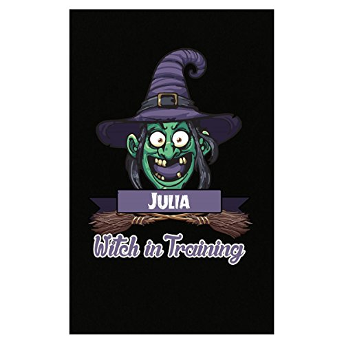 Halloween Costume T Shirt For Kids Julia Witch In Training Funny Halloween Gift - -