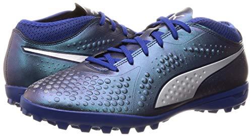 Bleu Puma Pour Syn puma One Hommes Tt 03 peacoat Blue Soccer Chaussures De Silver 4 sodalite qazpq