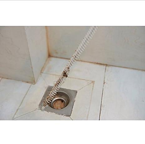 Haushaltsreinigung Kanalisation Reinigung Pinsel Haus & Garten Home Biegsamen Sink Tub Wc Dredge Rohr Schlange Pinsel Werkzeuge Kreative Bad Küche Zubehör