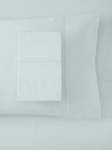 Belle Epoque 420 Queen Thread Count Sheet Set with Hemstitch, Azure by Belle Epoque