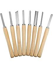 8pcs/Set Wood Lathe Chisel Set Professional Quality Wood Turning Chisel for Wood Working