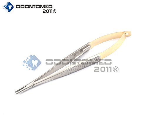 (OdontoMed2011 T/C Castroviejo Needle Holder 5.5