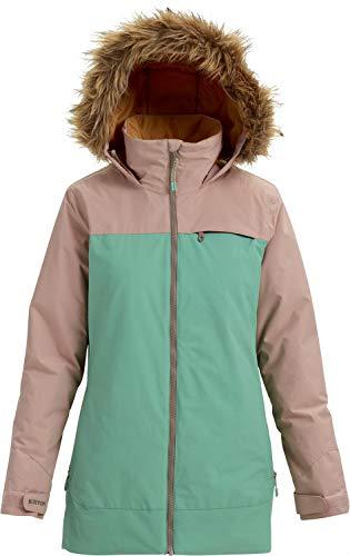 (Burton Women's Lelah Jacket, Fawn/Feldspar,)