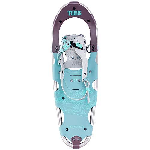 Tubbs Women's Frontier Snowshoe, Mint/Eggplant, 25 in. (Best Shoes For Walking In Snow)