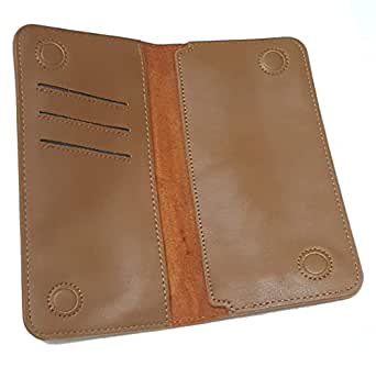H Magnetic Wallet - Leather Tan