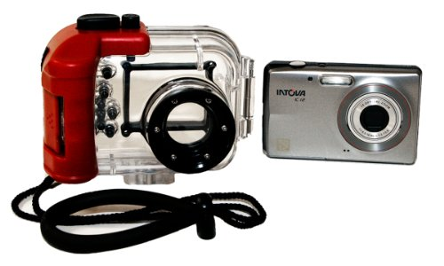 Intova IC12 Digital Waterproof Camera - Signal Processors Zoom