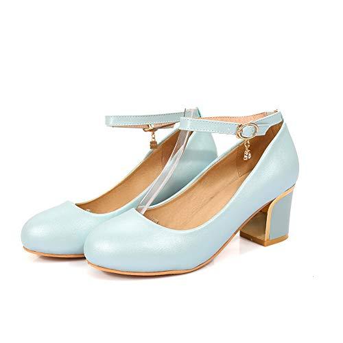 Bleu AdeeSu Femme EU 36 5 Sandales Bleu SDC05619 Compensées zwBxFIqg