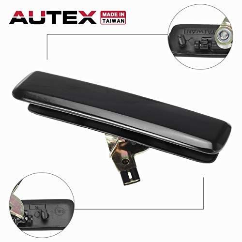 AUTEX Exterior Door Handle Front Right Compatible with 85 86 87 88 89 90 91 92 93 94 95 96 97 98 99 00 01 02 03 04 05 Chevy Astro GMC Safari 90 91 92 93 94 95 96 Olds Pontiac Lumina Door Handle 77163