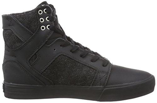 Adults' top Supra Sneakers Skytop black Hi Bbb Unisex Black FxvwP