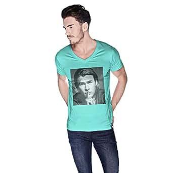 Creo Chris Hemsworth T-Shirt For Men - L, Green