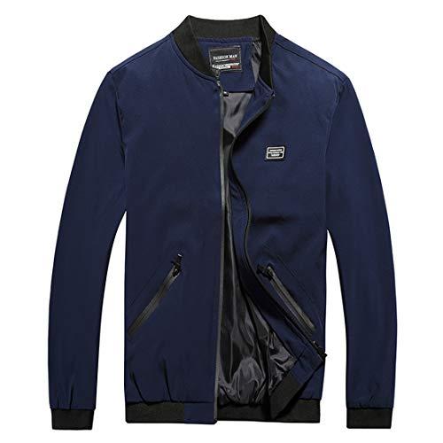 Men's Casual Weatherproof Golf Jacket Cotton Full Zip Windbreaker Field Jacket Coats -
