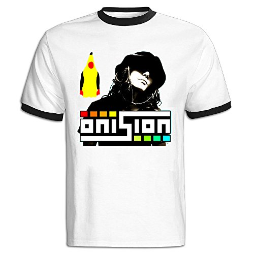 GOOOET Men's Youtube Onision Cotton Tshirts Black L
