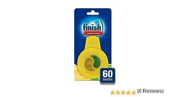 Finish Ambientador para Lavavajillas Limón - 60 lavados: Amazon.es ...