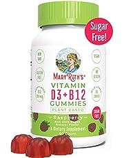 Vegan Vitamin D3 Gummy (Plant Based) by MaryRuth -from Organic Wild Lichen Paleo, Vegan, Non-GMO, GF, Men, Women & Kids! 1000 IU (1-2 Month Supply)