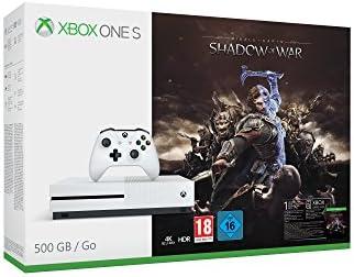 Microsoft Xbox One S Shadow of War 500GB bundle 500GB Wifi Blanco ...