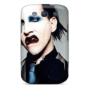 New Style Tpu S3 Protective Case Cover/ Galaxy Case - Marilyn Manson Band