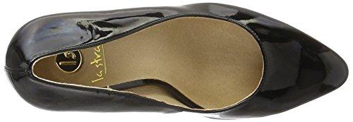La Strada Women's 908355 Closed Toe Heels Black (1301 - Patent Black) k6MqKND
