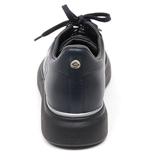D0864 sneaker uomo GUARDIANI SPORT BERK scarpa blu shoe man Blu