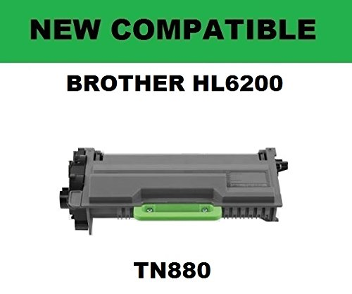 6200 Compatible Toner - BROTHER Compatible TN880 - HL-L6200/6250/6300/6400, MFC-L5700/5800/5850/5900/6700/6750/6800/6900