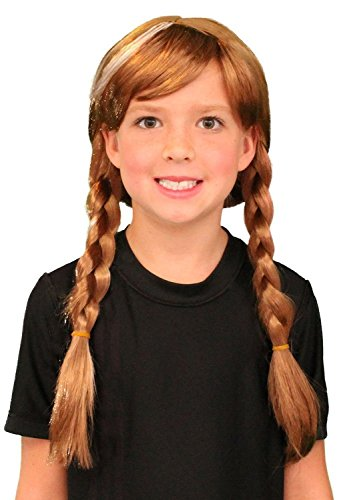 My Costume Wigs Princess Anna Wig Inspired By Disney's Frozen One Size Fits All (Princess Anna From Frozen)