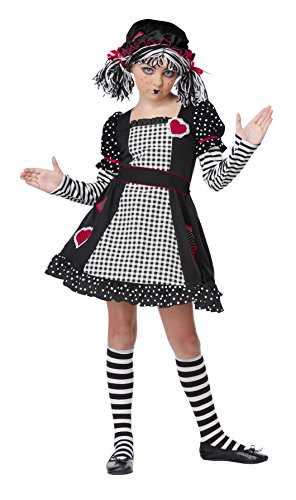 California Costumes Rag Doll Child Costume, Small
